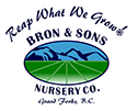 Bron & Sons Nursery Logo